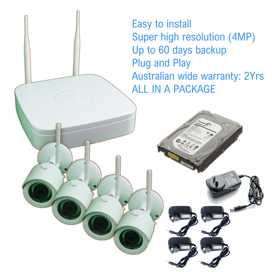 CCTV package east installation DIY