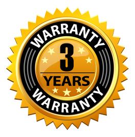 installation steps 3 years warranty