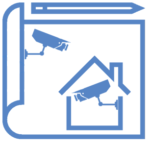 design CCTV camera homesecured home security camera service