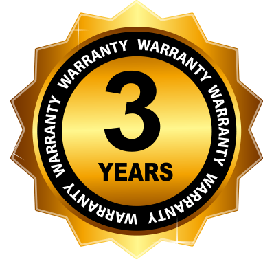Warranty 3 years homesecured