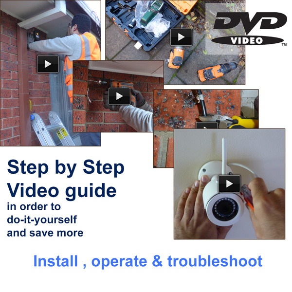 features video tutorial DVD homesecured