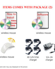 wifi package easy to install DIY homesecured 4