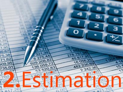 installation steps estimation