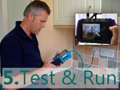 installation steps test run